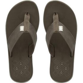 Helly Hansen Seasand Leather Sandals Women, fossil/aluminium